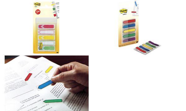 3M Post-it Index Mini Pfeile, 5 Farben à 20 Stück