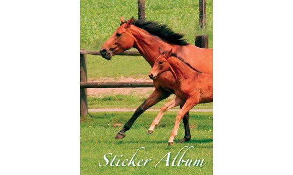 Stickeralbum Pferd, DIN A5