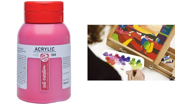 Acrylfarbe ArtCreation, hellgrün, 750 ml