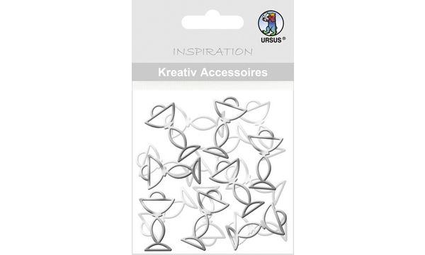 Kreativ Accessoires Mini Pack, Kelche silber
