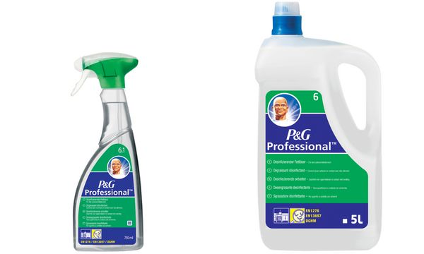 P&G Professional 6 Meister Proper Fettlöser, 5 l Flasche