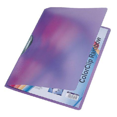 Klemm-Mappe Color Clip Rainbow violett