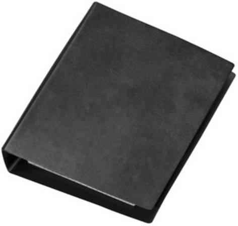Ringbuch A6 4 Ring schwarz