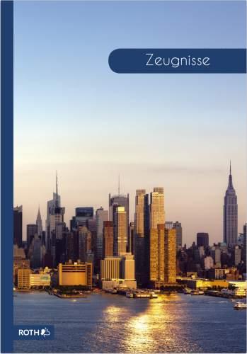ROTH Zeugnismappe Skyline, DIN A4
