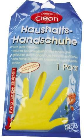 Gummi Handschuh groß