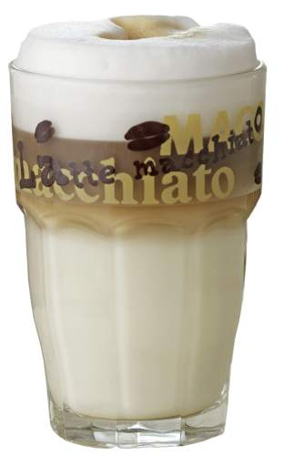 Kaffeeglas Latte Macchiato