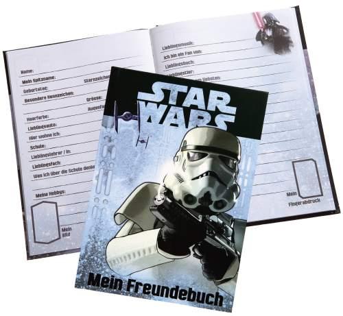 UNDERCOVER Freundebuch Star Wars, DIN A5, 126 Seiten