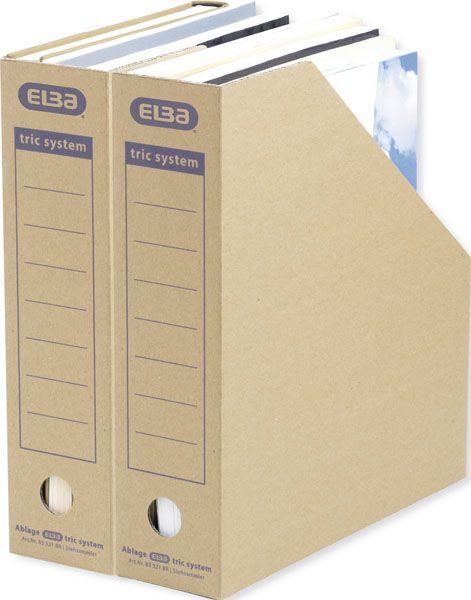Archiv-Stehsammler Tric für A4 braun ca78x310x287 083521...