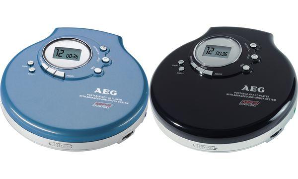 Tragbarer CD-Player CDP 4212 MP3, schwarz