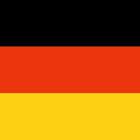 Serviette Fußball 20 Stück 33x33cm Deutschland schwarz r...