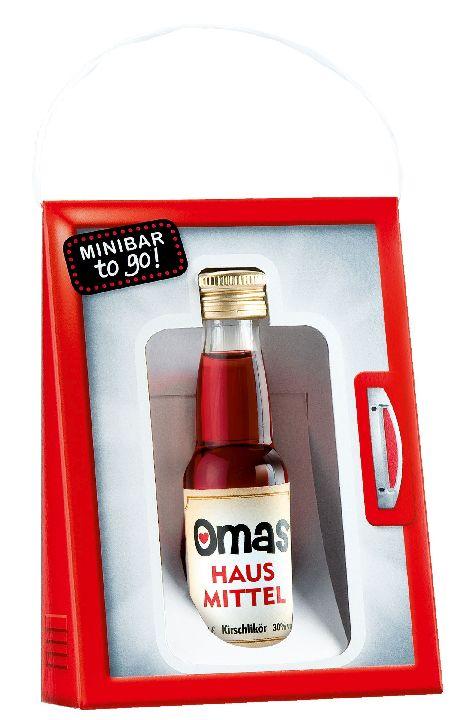 Schnaps Minibar to go 0,2L Kirschlikör 15% Alkohol Omas ...
