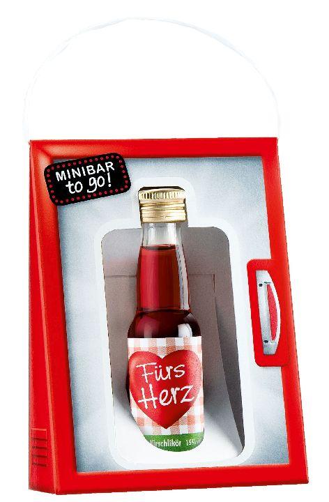 Schnaps Minibar to go 0,2L Kirschlikör 15% Alkohol Fürs ...
