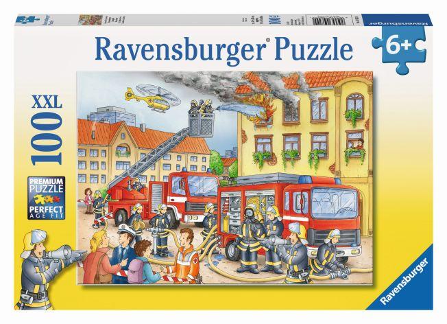 Puzzle 100 XXL Teile Unsere Feuerwehr ab 6 Jahre