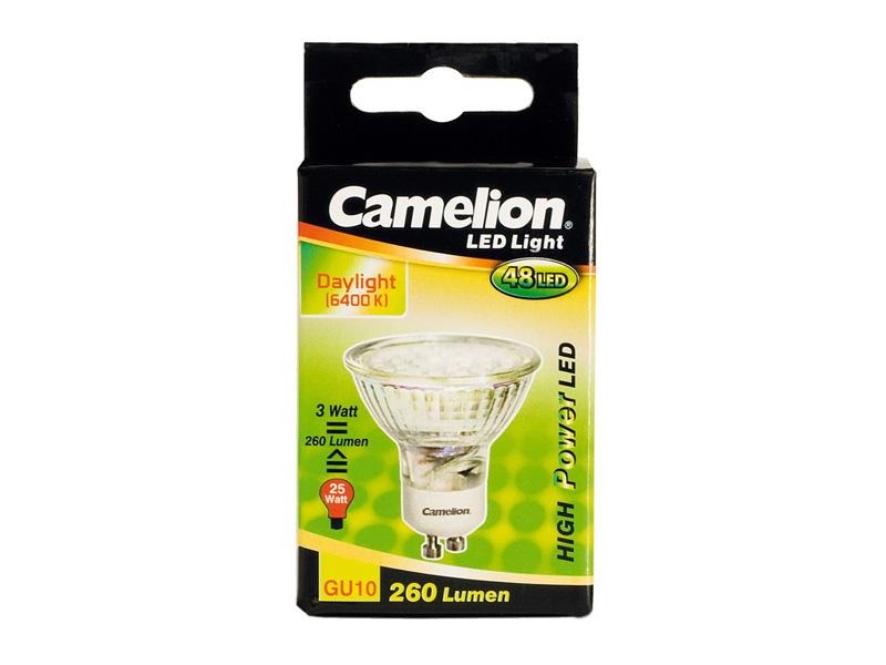 LED Sparlampe 48-LED SMD 3 Watt GU10 (260 Lumen)