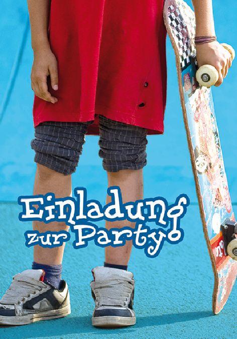 Karte Geburtstag Einladungen für Kinder Teenie Foto Jung...