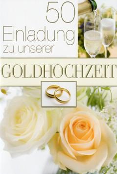 Karte Hochzeit Gold Einladung Fotos mit Sekt RingenRosen...