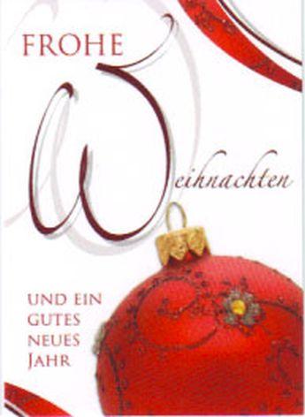 #10xKarte Weihnachten Midi Midikarte Holzmännchen und Sc...